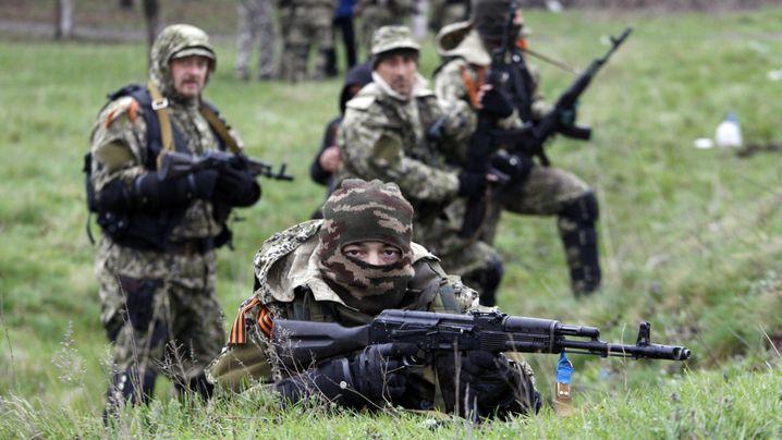 Kämpfe in Slawjansk: Unruhen in der Ostukraine