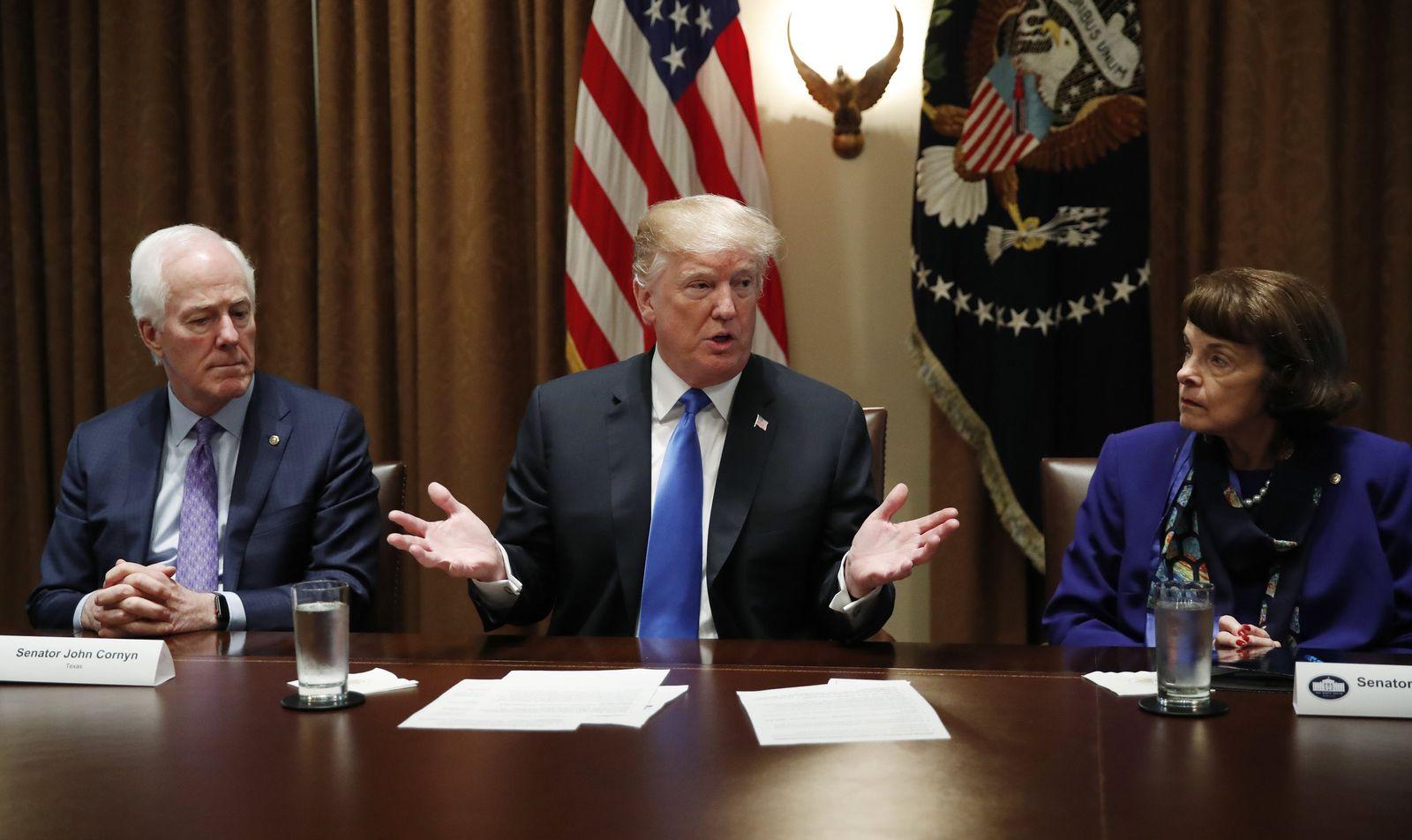 Trump in der Waffendebatte
