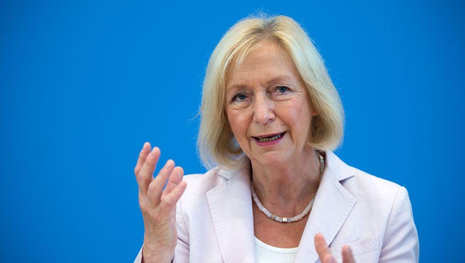 Bundesbildungsministerin Johanna Wanka (CDU) will Flüchtlingen besser helfen