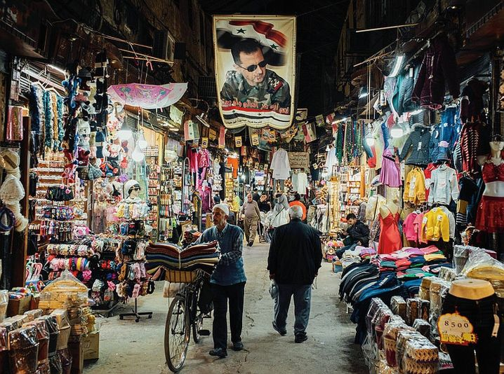 A market in Damascus in late 2020: A deadly standoff