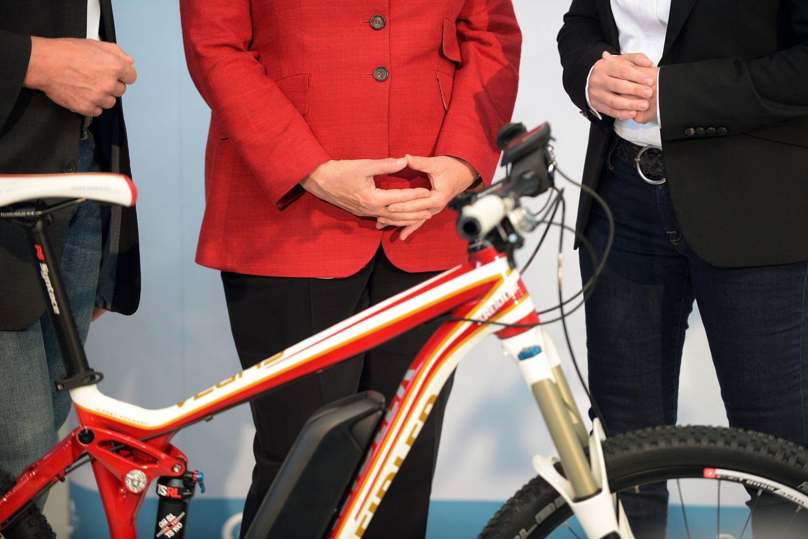 Bundeskanzlerin Angela Merkel besucht Eurobike