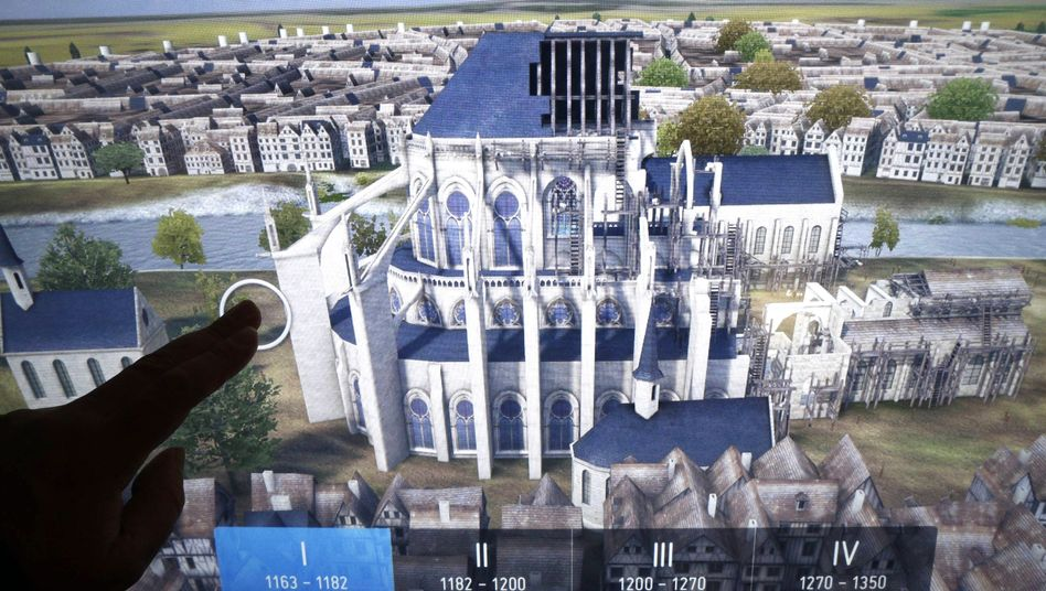 """A 3D image of Notre Dame """"will make reconstruction considerably easier."""""""