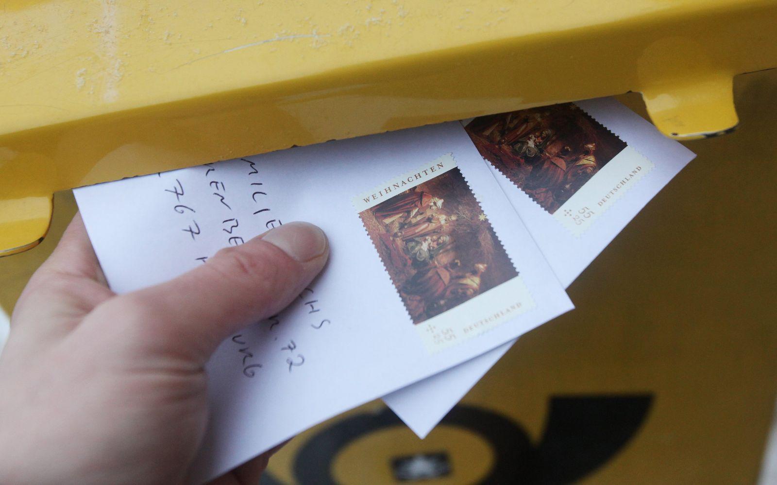 Weihnachtspost / Briefe / Briefwechsel