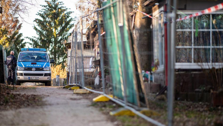 Polizeieinsatz auf dem Campingplatz Eichwald in Lügde
