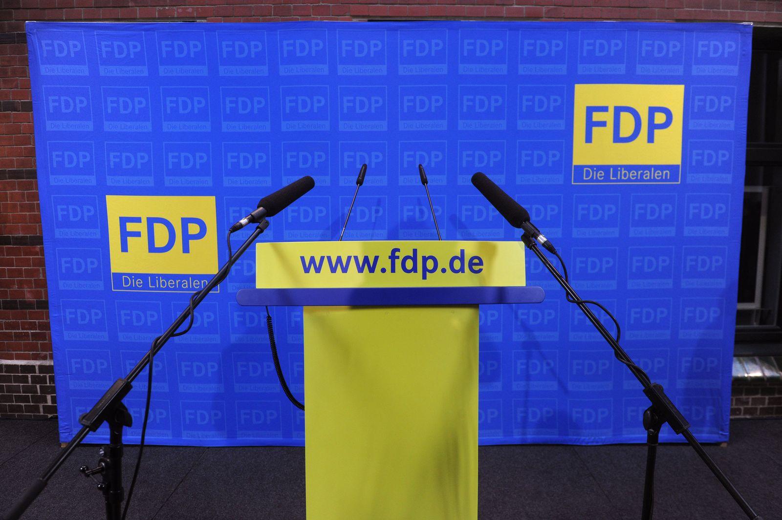 FDP / Leeres Pult