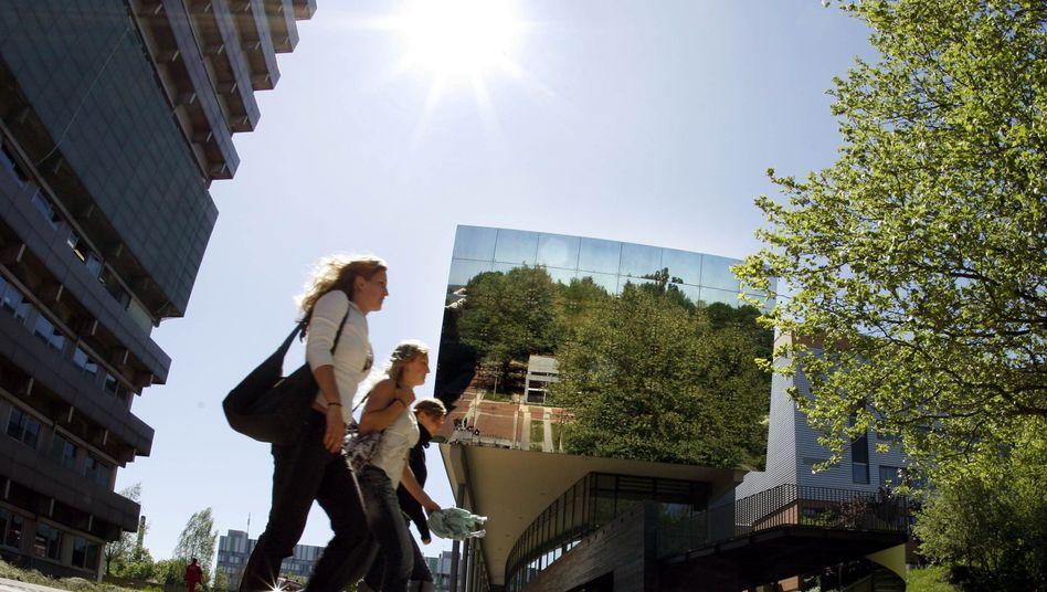 Studentinnen der Justus-Liebig-Universität in Gießen