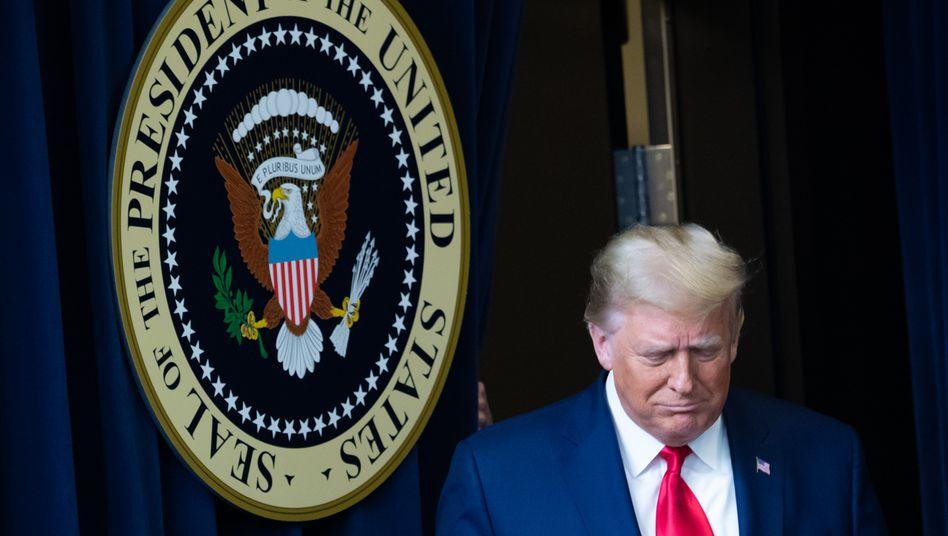 Der noch amtierende US-Präsident Donald Trump