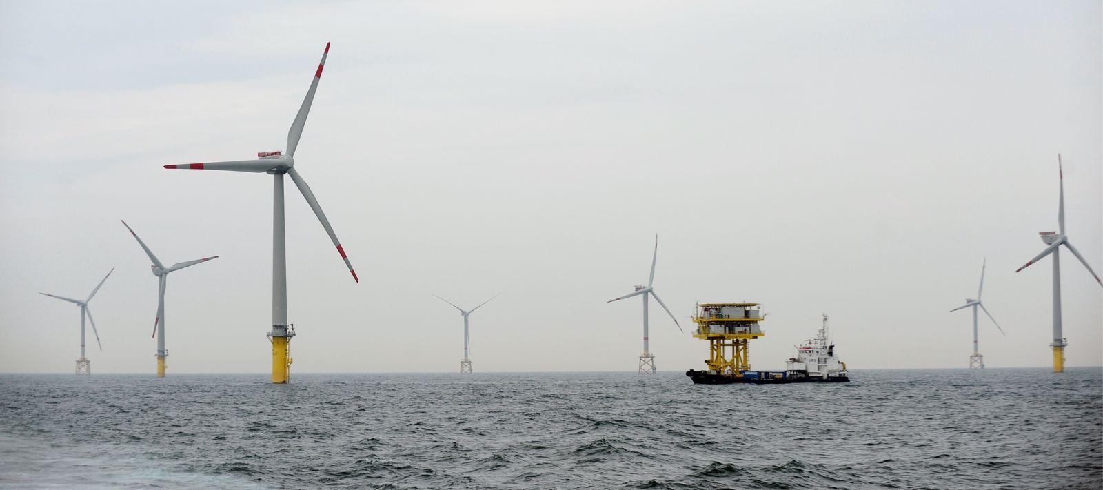 NICHT VERWENDEN Energie/Offshore/Windkraft/Windpark