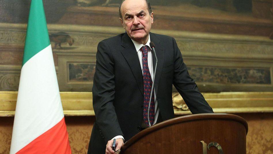 Sozialdemokrat Bersani: Sondierungsgespräche ohne Ergebnis beendet