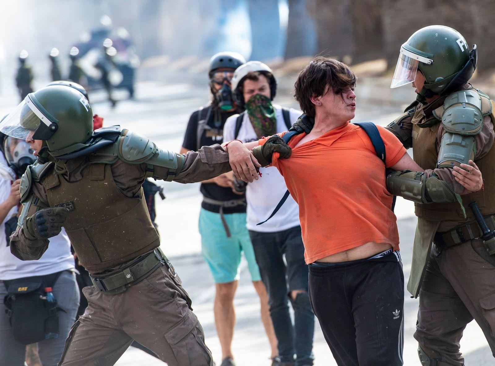 Chile / Proteste
