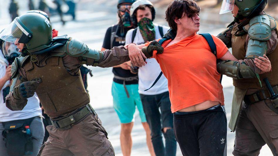 Proteste in Chile: Schwere Menschenrechtsverstöße