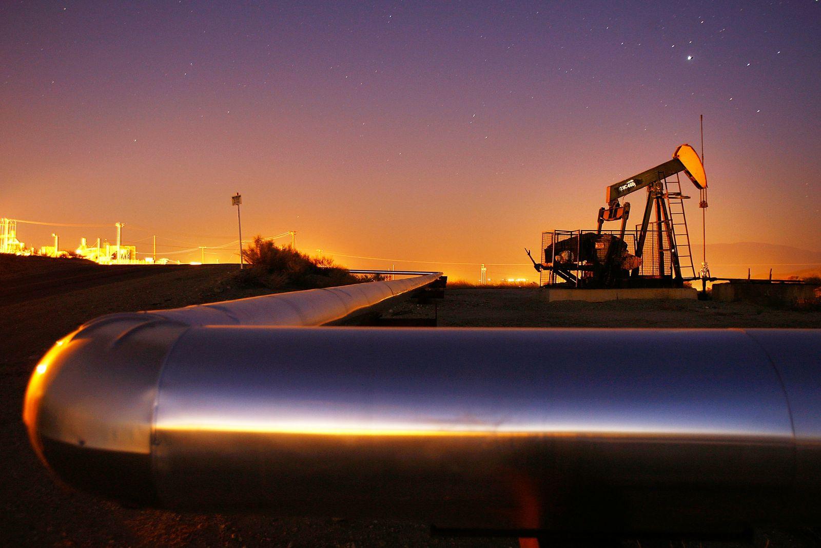 USA Ölförderturm / Öl