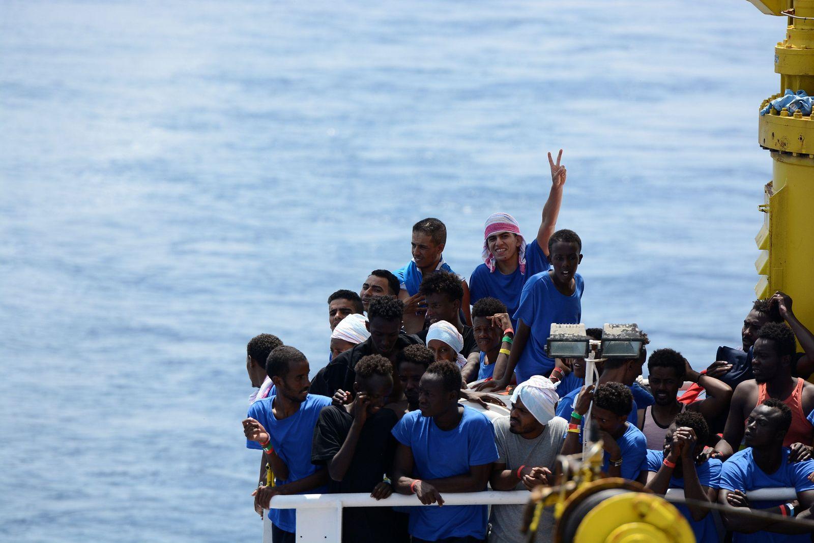 EUROPE-MIGRANTS/NGO