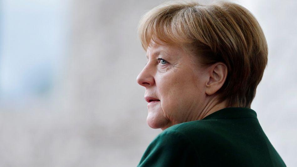 Kanzlerin Merkel in Berlin