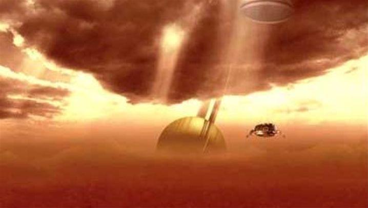 Landung auf Titan: Huygens auf dem Saturnmond