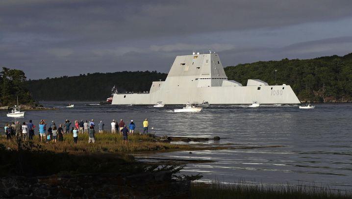 """USS """"Zumwalt"""": Riesen-Zerstörer mit Problemen"""