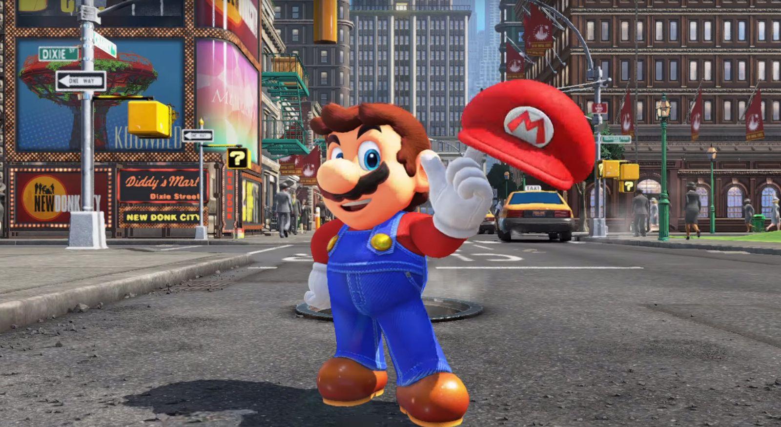EINMALIGE VERWENDUNG E3 2017/ Super Mario Odyssey Credit Nintendo