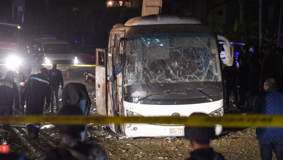 Bombenanschlag auf Touristenbus in Gizeh
