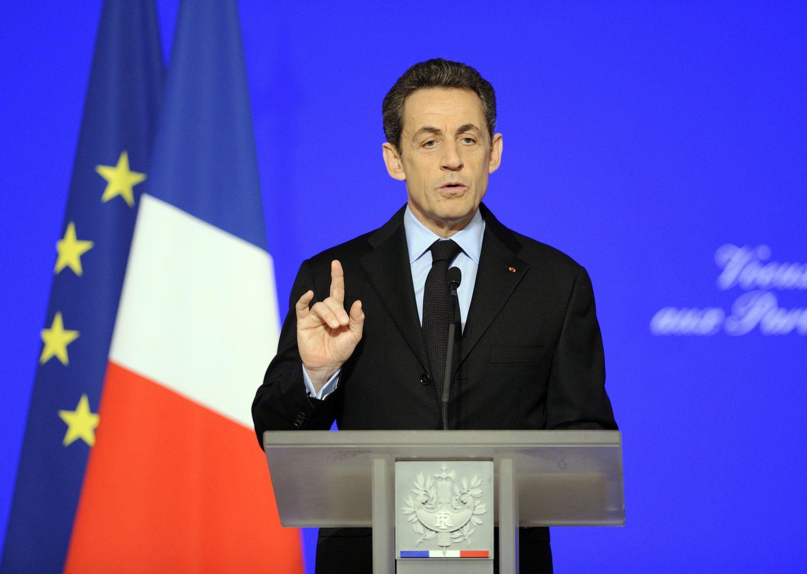 Sarkozy / Neujahrswünsche