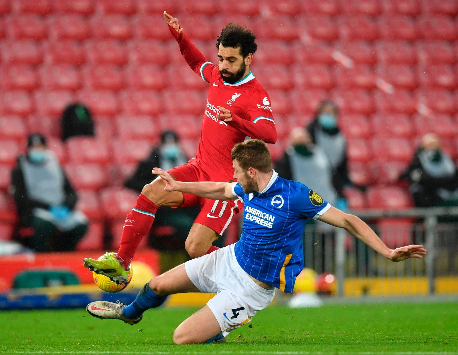 Liverpool FC vs Brighton Hove Albion, United Kingdom - 03 Feb 2021