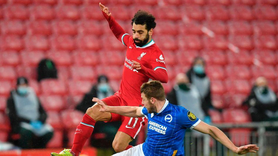 Abgegrätscht von Brighton: Liverpool ist nur noch Vierter