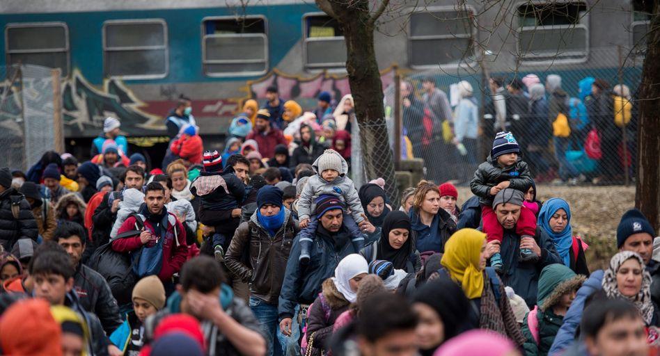 Flüchtlinge an slowenisch-österreichischer Grenze: Maximal 3200 werden pro Tag durchgelassen