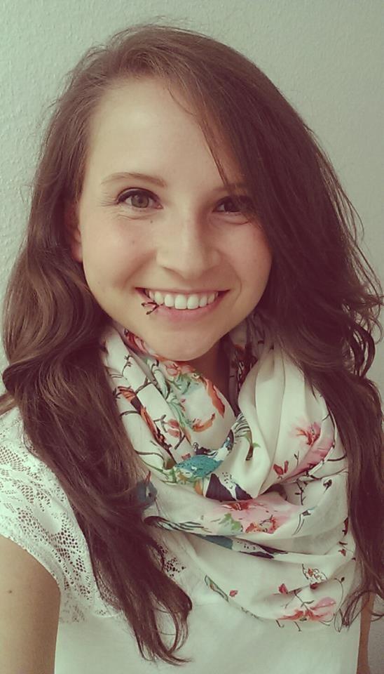 Katharina Hoy, 27, lebt seit August in Fredericksburg