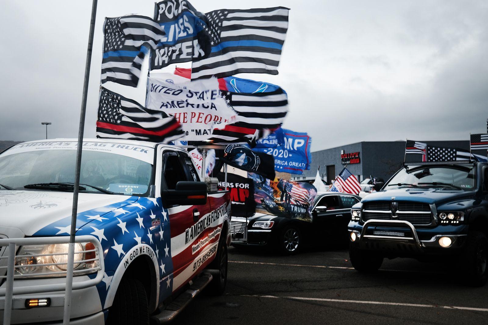 Battleground State Of Pennsylvania Prepares Tuesday's Presidential Election