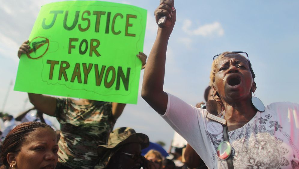 """Demonstration in Sanford: Tausende fordern """"Gerechtigkeit für Trayvon"""""""