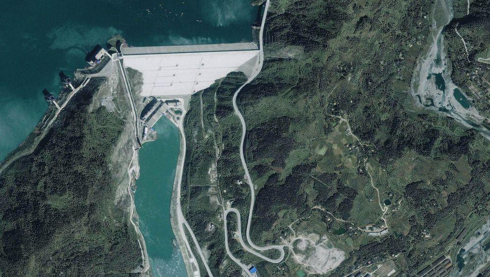 Beben in China: Todesfallen am Staudamm