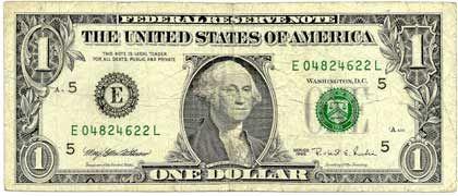 Dollarnote: Gewinn und Vermeidung von Verlust wirkten im Experiment gleich