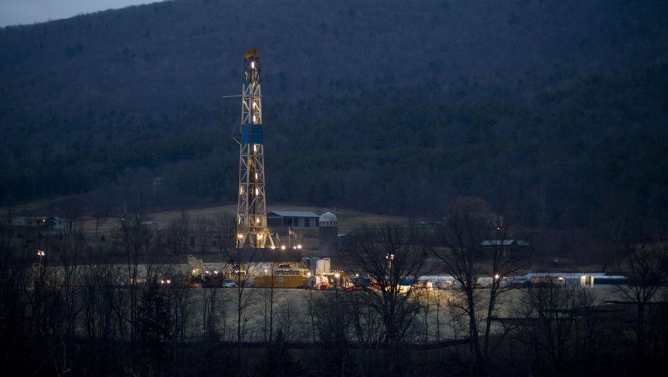 Frackingbohrung in Pennsylvania, USA: Ungewisses im Untergrund
