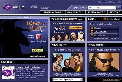 Yahoo Music: Abonnieren und behalten?