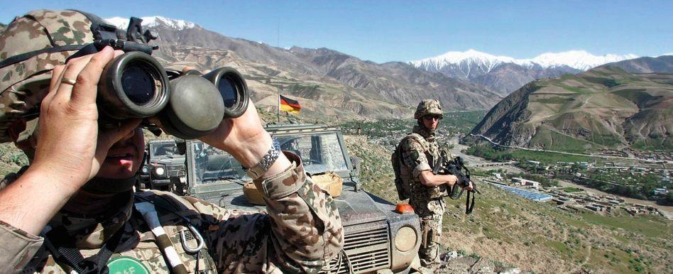Deutsche Isaf-Soldaten bei Faizabad