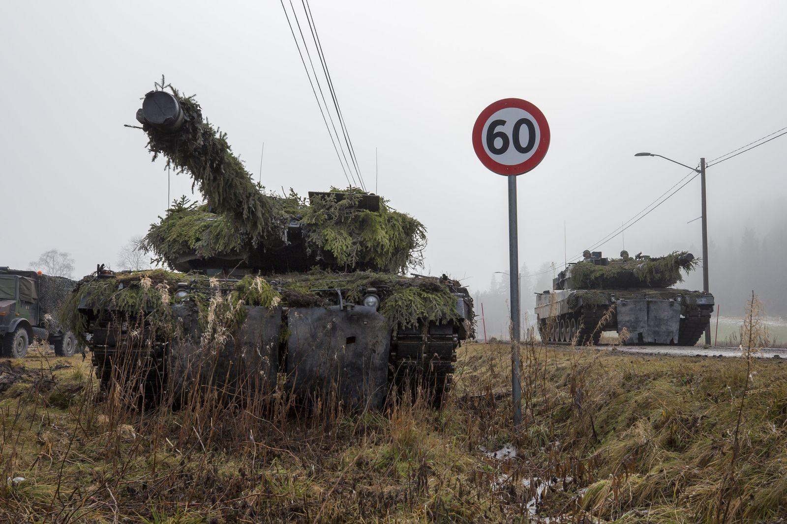 "Nato-Großübung ""Trident Juncture"""