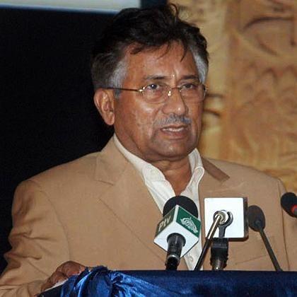 """Pakistans Präsident Musharraf: """"Nach 46 Jahren in Uniform sage ich dieser Armee auf Wiedersehen"""""""