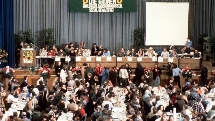 40 Jahre Grüne: Geschichte in Bildern