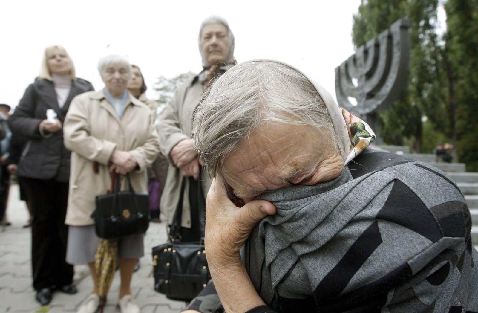 Gedenken an Holocaust-Gedenkstätte Babi Jar - kein Hotel