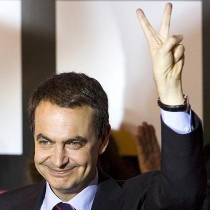 Spaniens Ministerpräsident Zapatero: Nach dem Sieg Zwang zur Kooperation