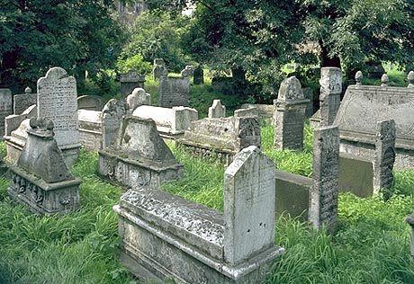 Jüdischer Friedhof im Krakauer Stadtteil Kazimierz: Noch 1946 kam es zu einem Judenprogrom in Polen