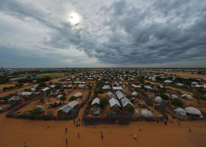 Dadaab-Flüchtlingslager im April 2015