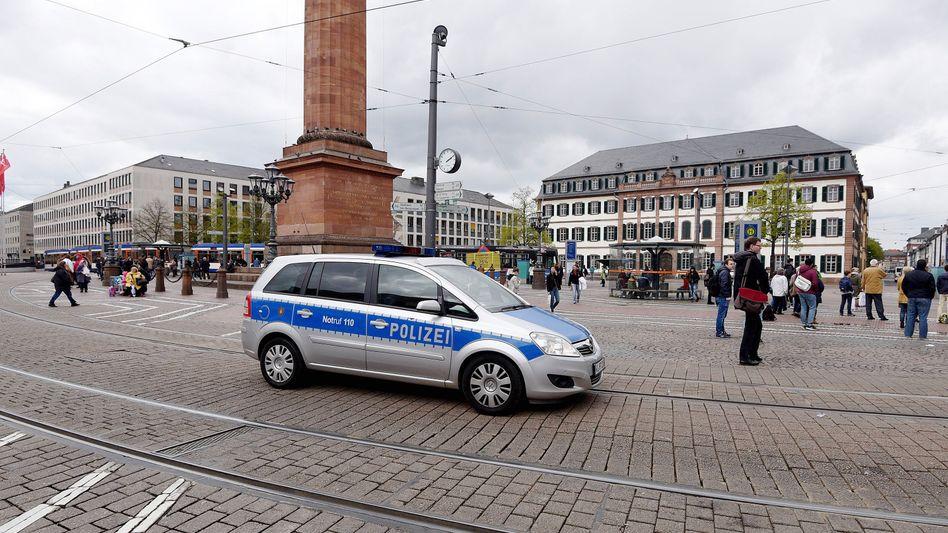 Innenstadt von Darmstadt