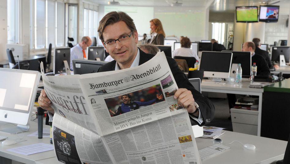 """Bisheriger """"Abendblatt""""-Chef Strunz: Vorsichtiger Perestroika-Kurs"""