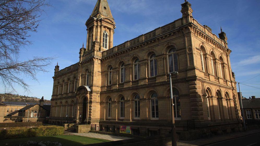 Yorkshire In England Moderne Kunst In Der Englischen Grafschaft