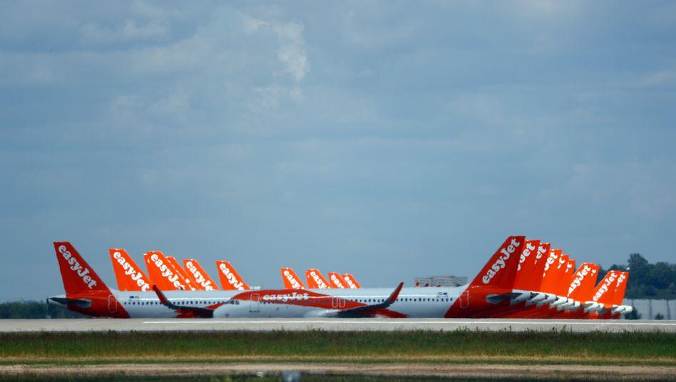 Easyjet-Flieger in Berlin Schönefeld: 4500 Jobs sollen wegfallen
