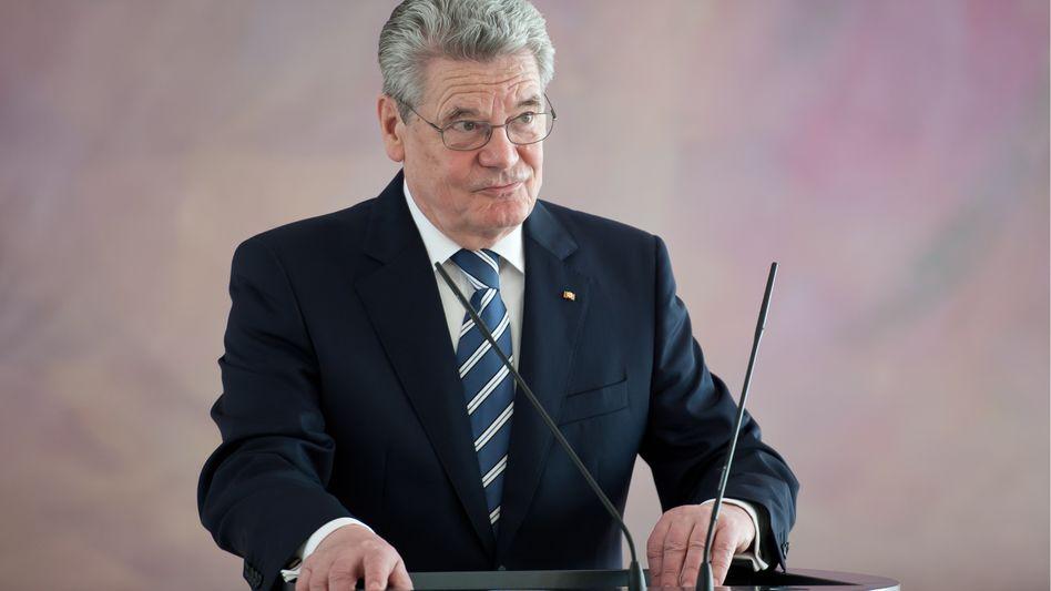 Bundespräsident Joachim Gauck: Er soll das Gesetz zum ESM noch nicht unterzeichnen