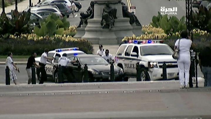 USA: Schüsse vor dem Kapitol