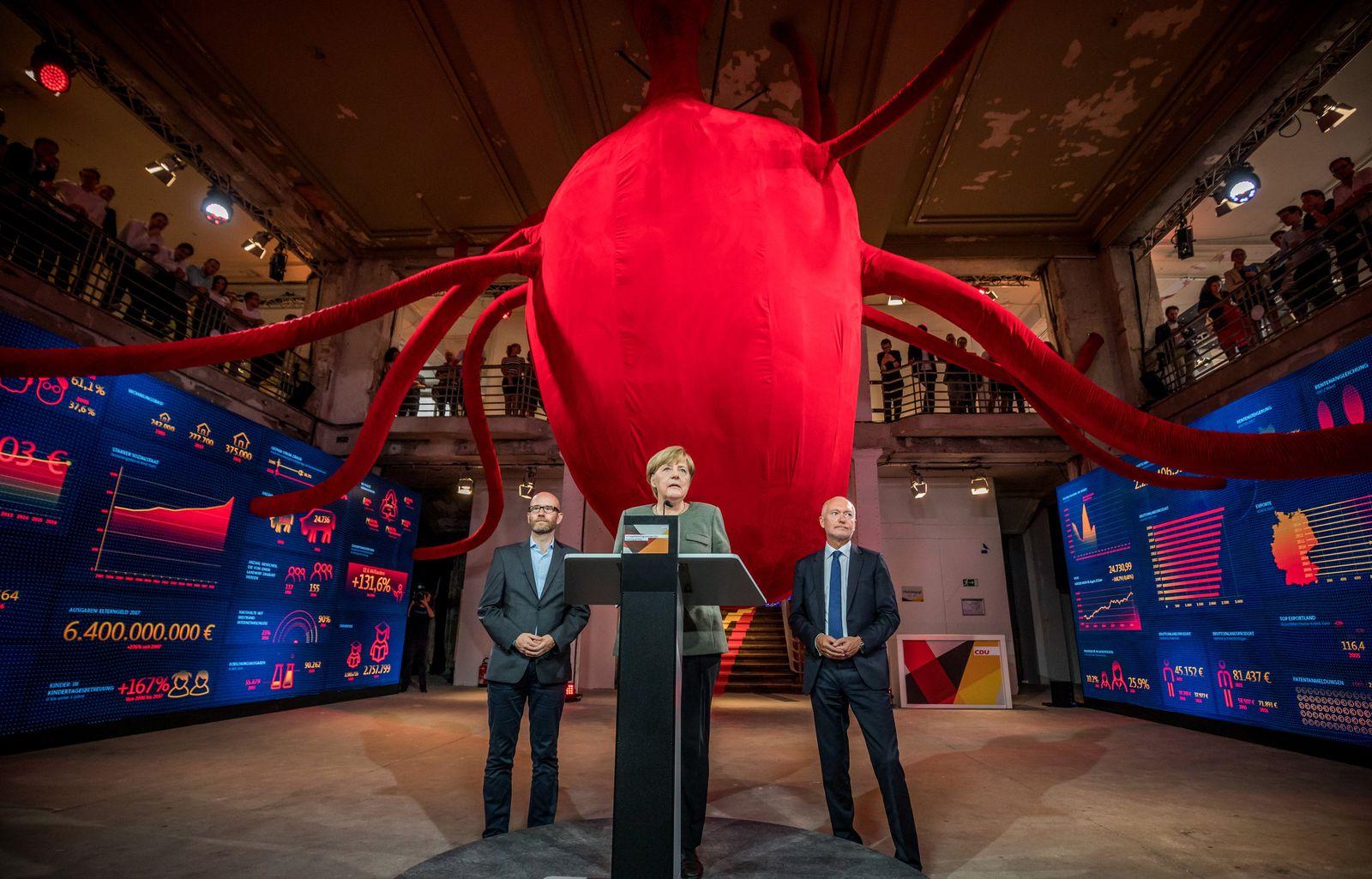 Wahlprogramm Haus der CDU Merkel