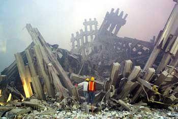 Ruine des New Yorker World Trade Centers: Große, prestigeträchtige Anschläge?