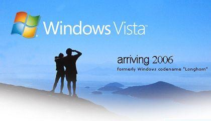 Vista-Werbung aus dem Jahr 2005: Na, wo bleibt es denn?